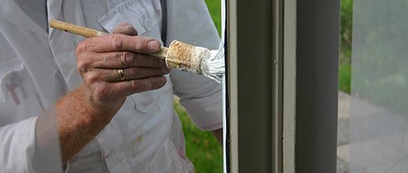 Fenster streichen und lackieren