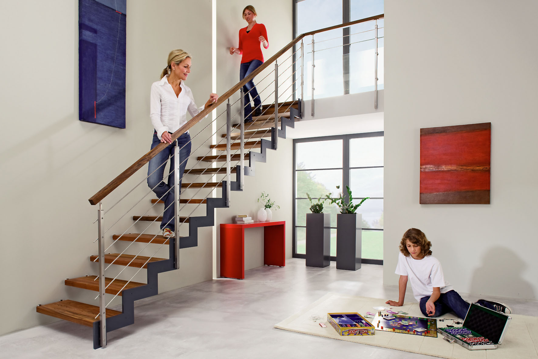 Treppe aufarbeiten